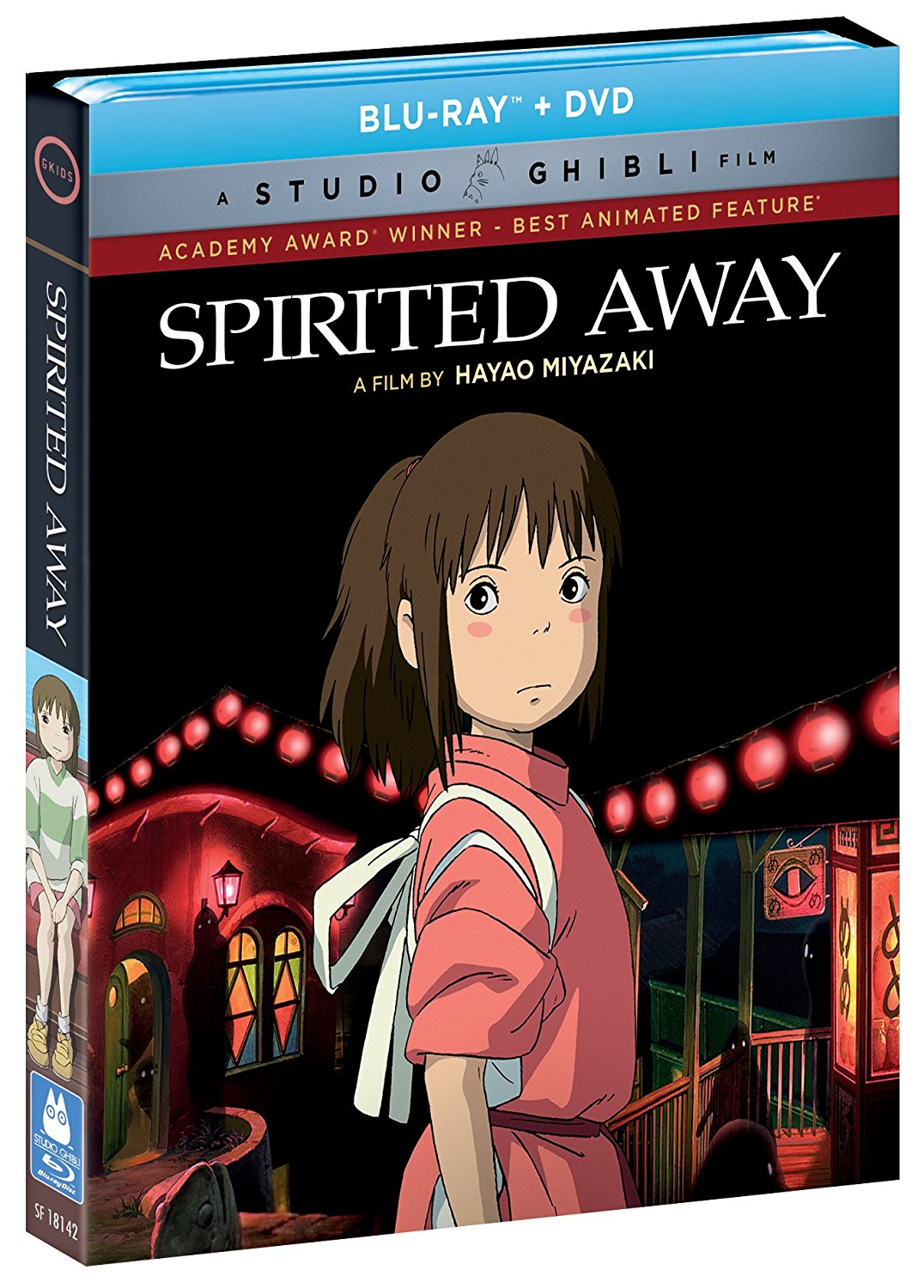 Spirited Away Blu-ray/DVD