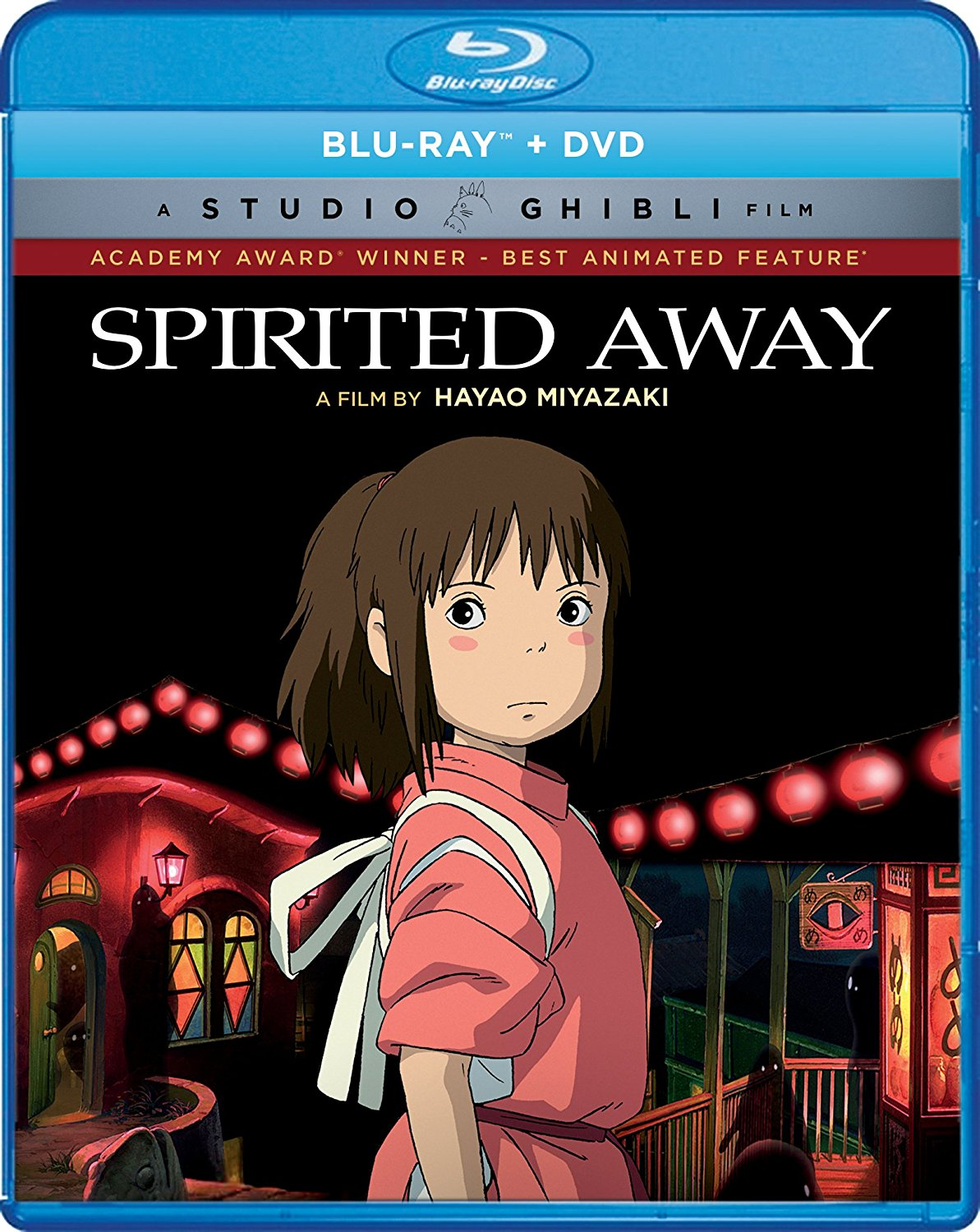 Spirited Away Blu-ray/DVD 826663181586