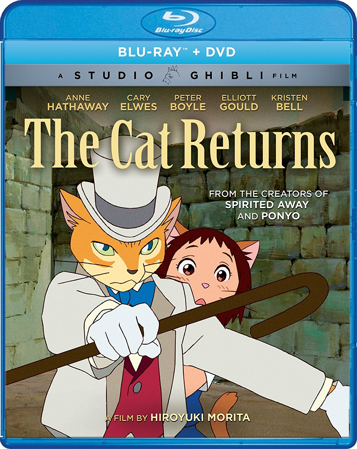 The Cat Returns Blu-ray/DVD 826663181609