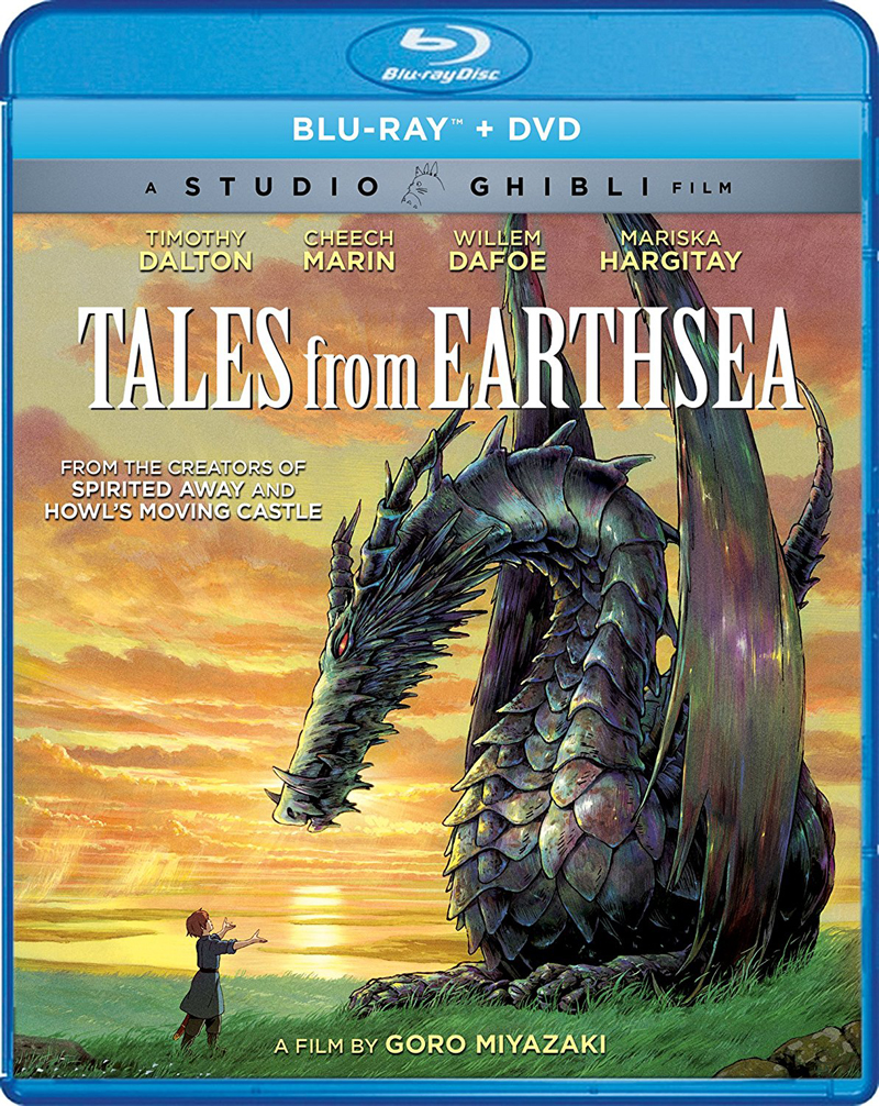 Tales From Earthsea Blu-ray/DVD 826663181647