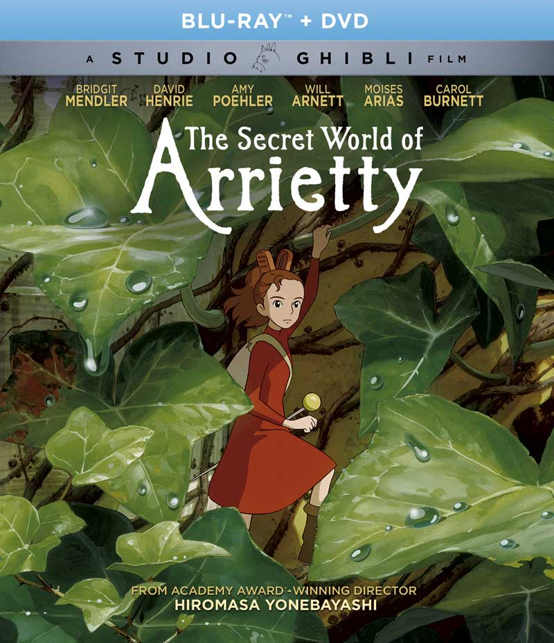 The Secret World of Arrietty Blu-ray/DVD 826663181685