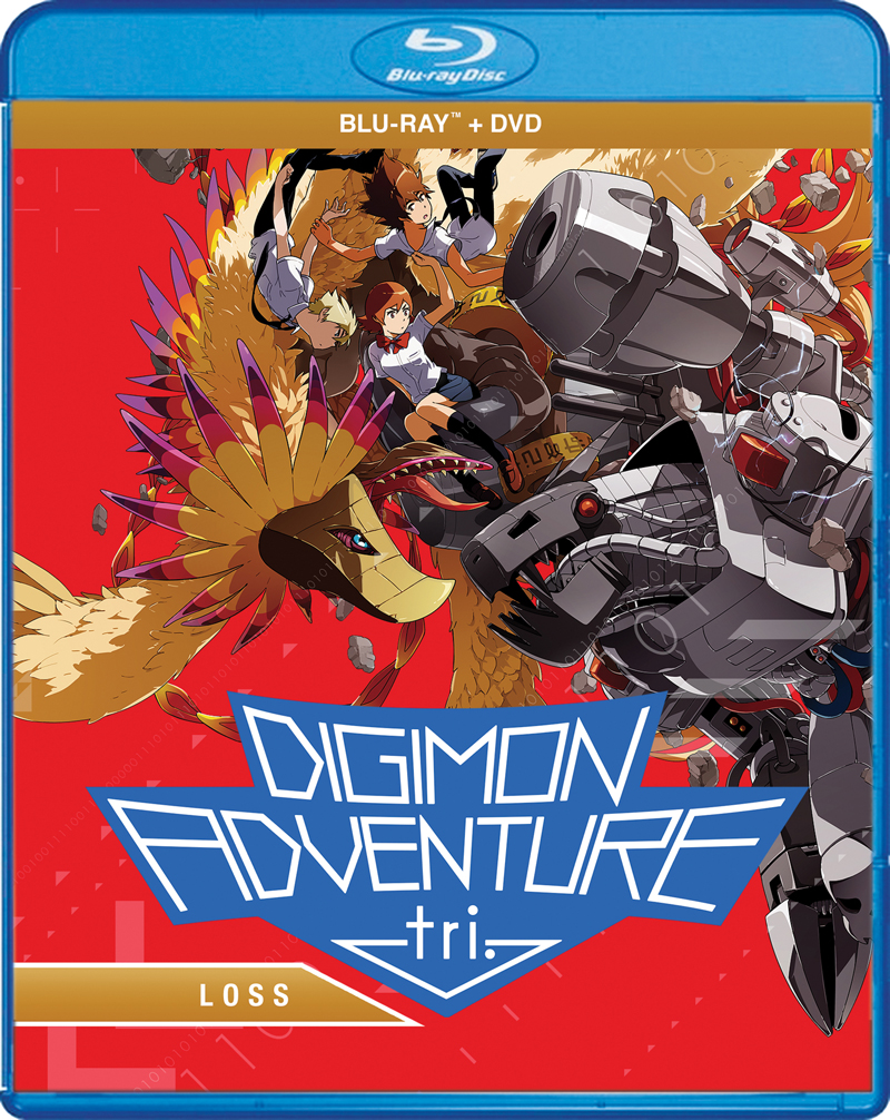Digimon Adventure tri Loss Blu-ray/DVD 826663183986