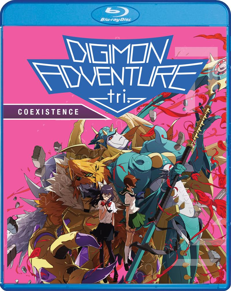Digimon Adventure tri Coexistence Blu-ray/DVD 826663188936