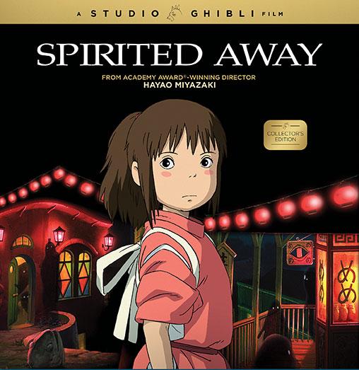 Spirited Away Collector's Edition Blu-ray