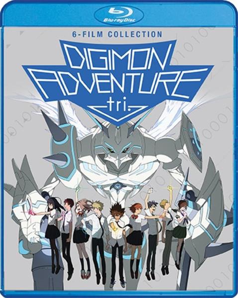 Digimon Adventure tri Complete Movie Collection Blu-ray