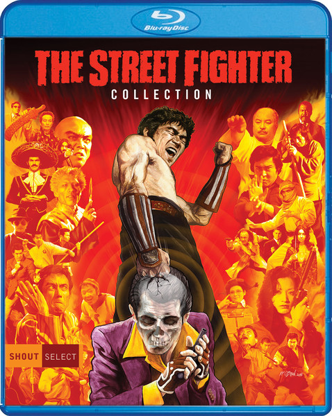 The Street Fighter Movie Collection Blu-ray