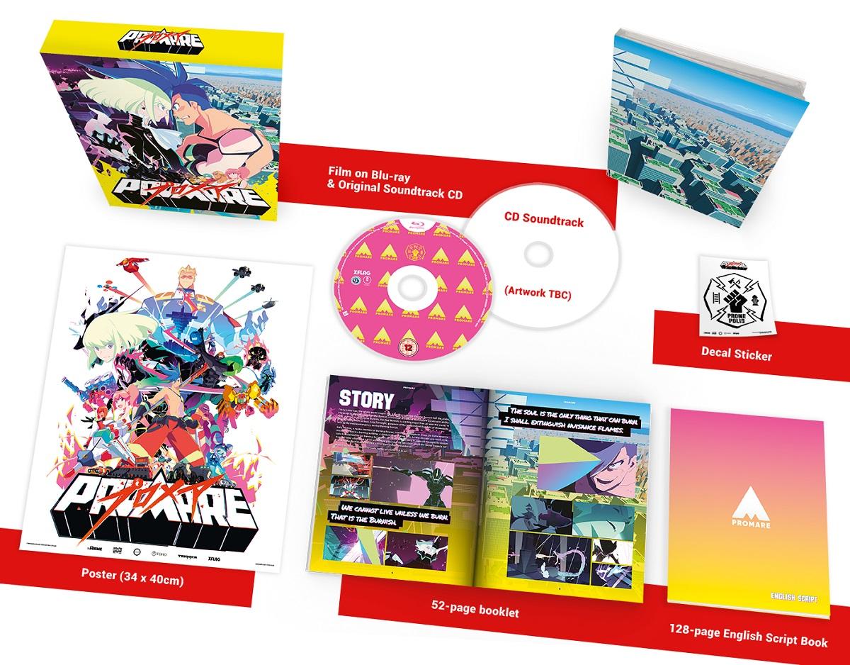 Promare Collector's Edition Blu-ray