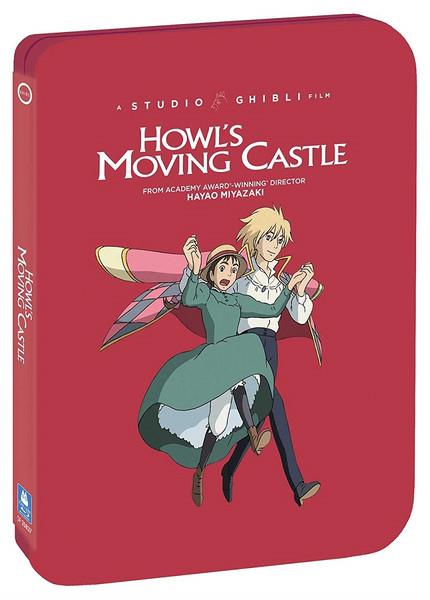 Howl's Moving Castle Steelbook Blu-ray/DVD
