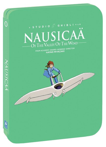 Nausicaa of the Valley of the Wind Steelbook Blu-ray/DVD