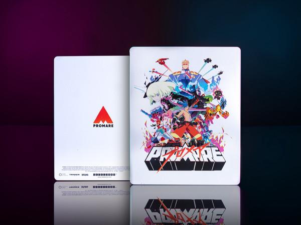 Promare Steelbook Blu-ray/DVD