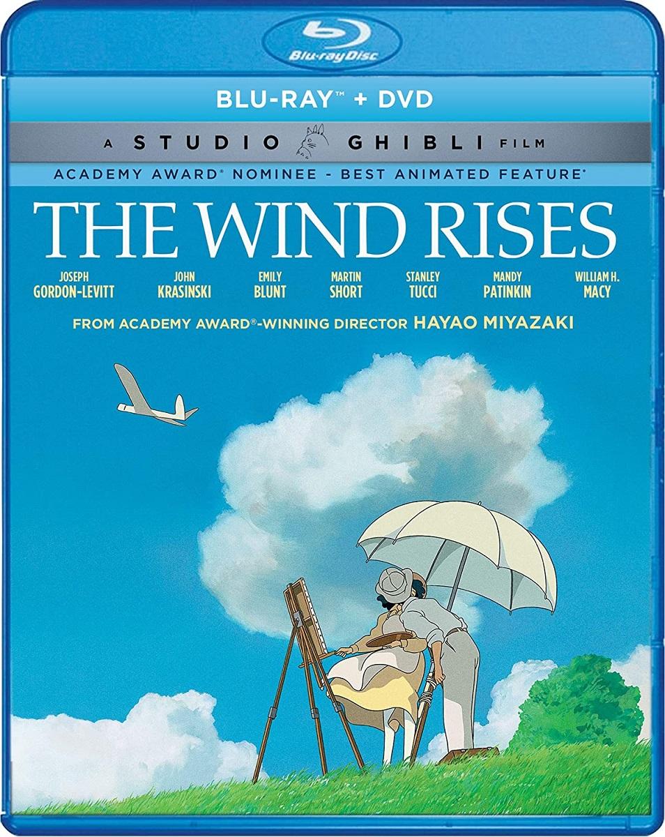 The Wind Rises Blu-ray/DVD