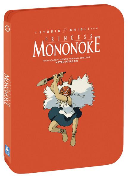 Princess Mononoke Steelbook Blu-ray/DVD