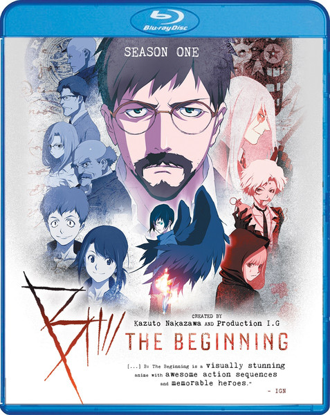 B The Beginning Season 1 Blu-ray/DVD