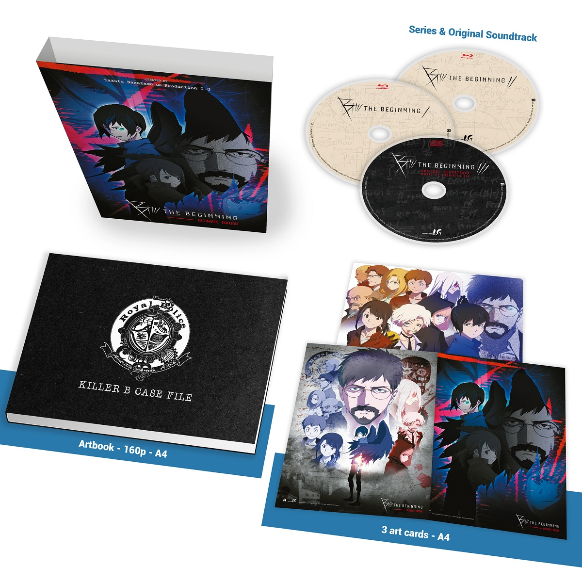 B The Beginning Season 1 Ultimate Collection Blu-ray