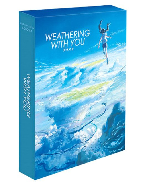 Weathering With You Collector's Edition 4K HDR/2K Blu-ray