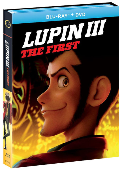 Lupin the 3rd The First Blu-ray/DVD