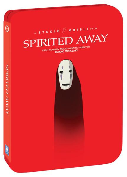 Spirited Away Steelbook Blu-ray/DVD