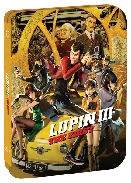Lupin the 3rd The First Steelbook Blu-ray/DVD