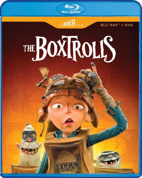 The Boxtrolls Blu-ray/DVD