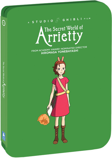 The Secret World of Arrietty Steelbook Blu-ray/DVD