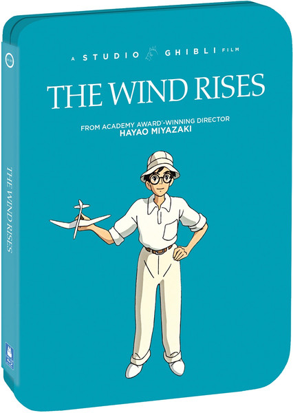 The Wind Rises Steelbook Blu-ray/DVD