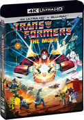 Transformers The Movie 35th Anniversary Edition 4K HDR/2K Blu-ray