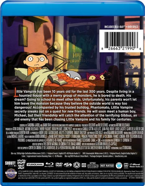 Little Vampire Blu-ray/DVD