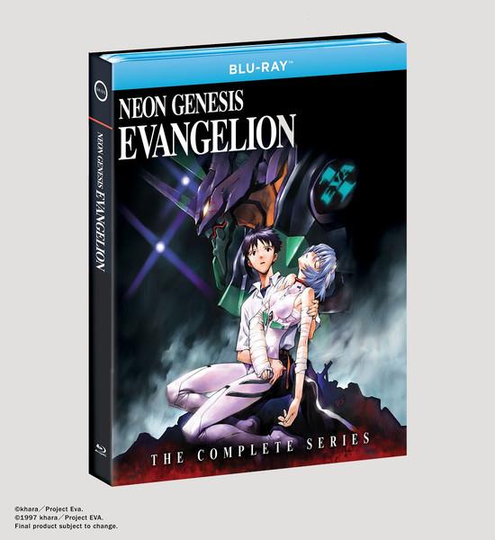 Neon Genesis Evangelion Complete Series Blu-ray