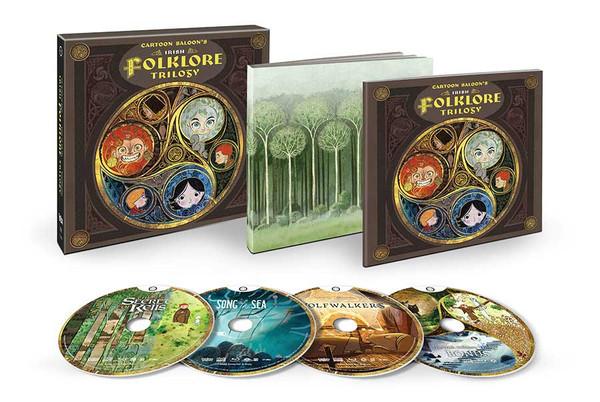 Cartoon Saloon's Irish Folklore Trilogy Collector's Edition Blu-ray