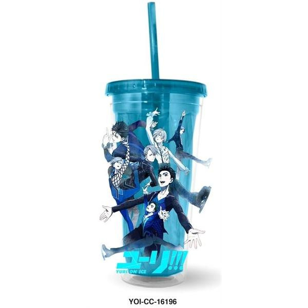 Competition Key Art Yuri!!! On Ice Travel Cup