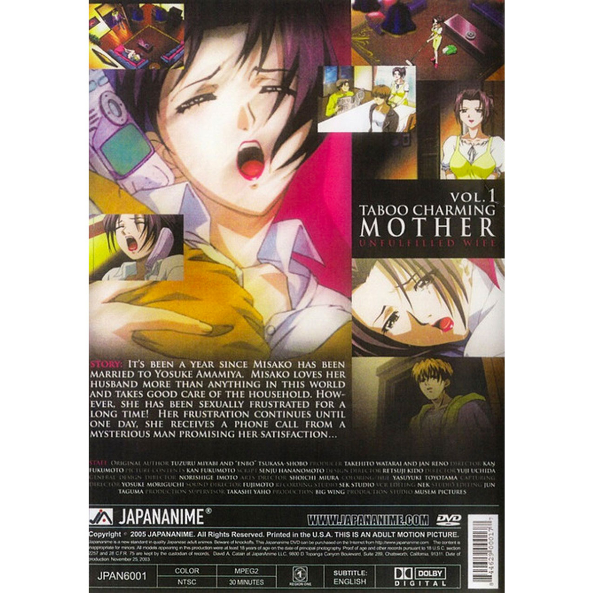 Taboo Charming Mother DVD 1