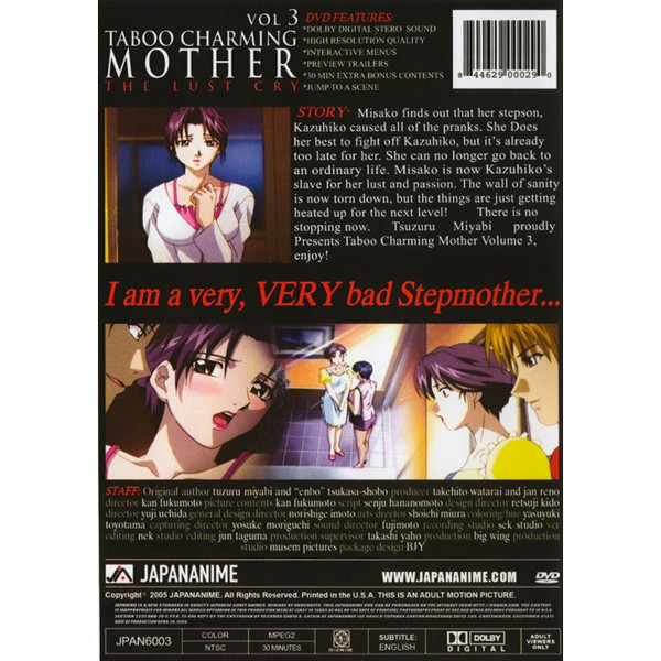Taboo Charming Mother DVD 3