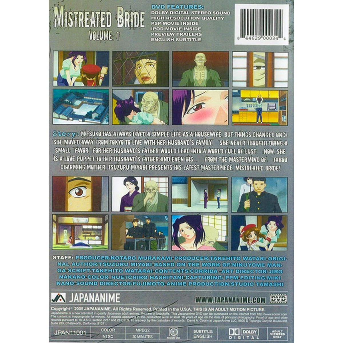 Mistreated Bride DVD 1