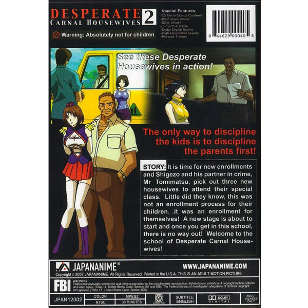 Desperate Carnal Housewives DVD 2