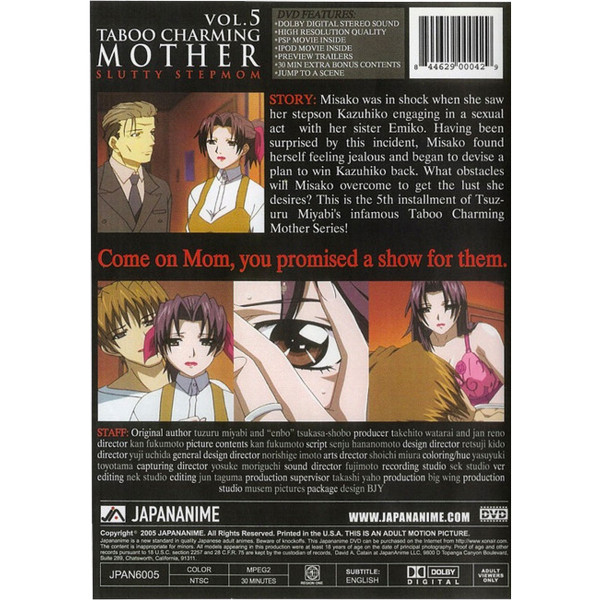 Taboo Charming Mother DVD 5