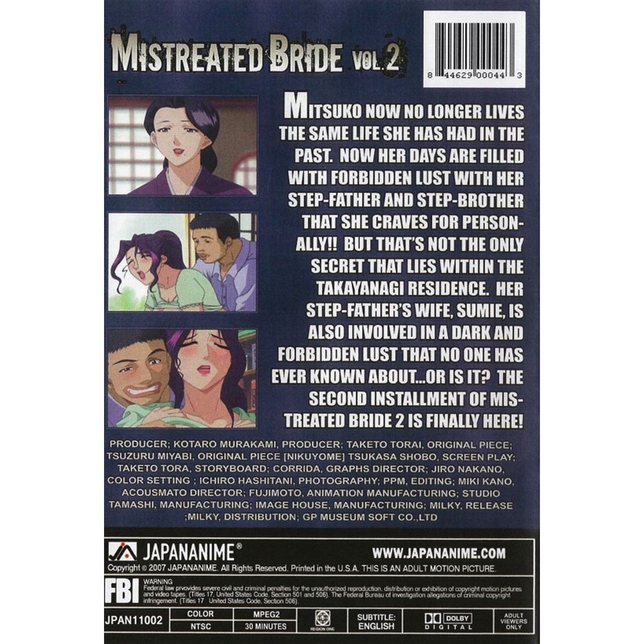 Mistreated Bride DVD 2