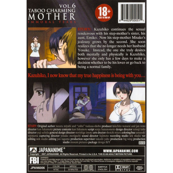 Taboo Charming Mother DVD 6