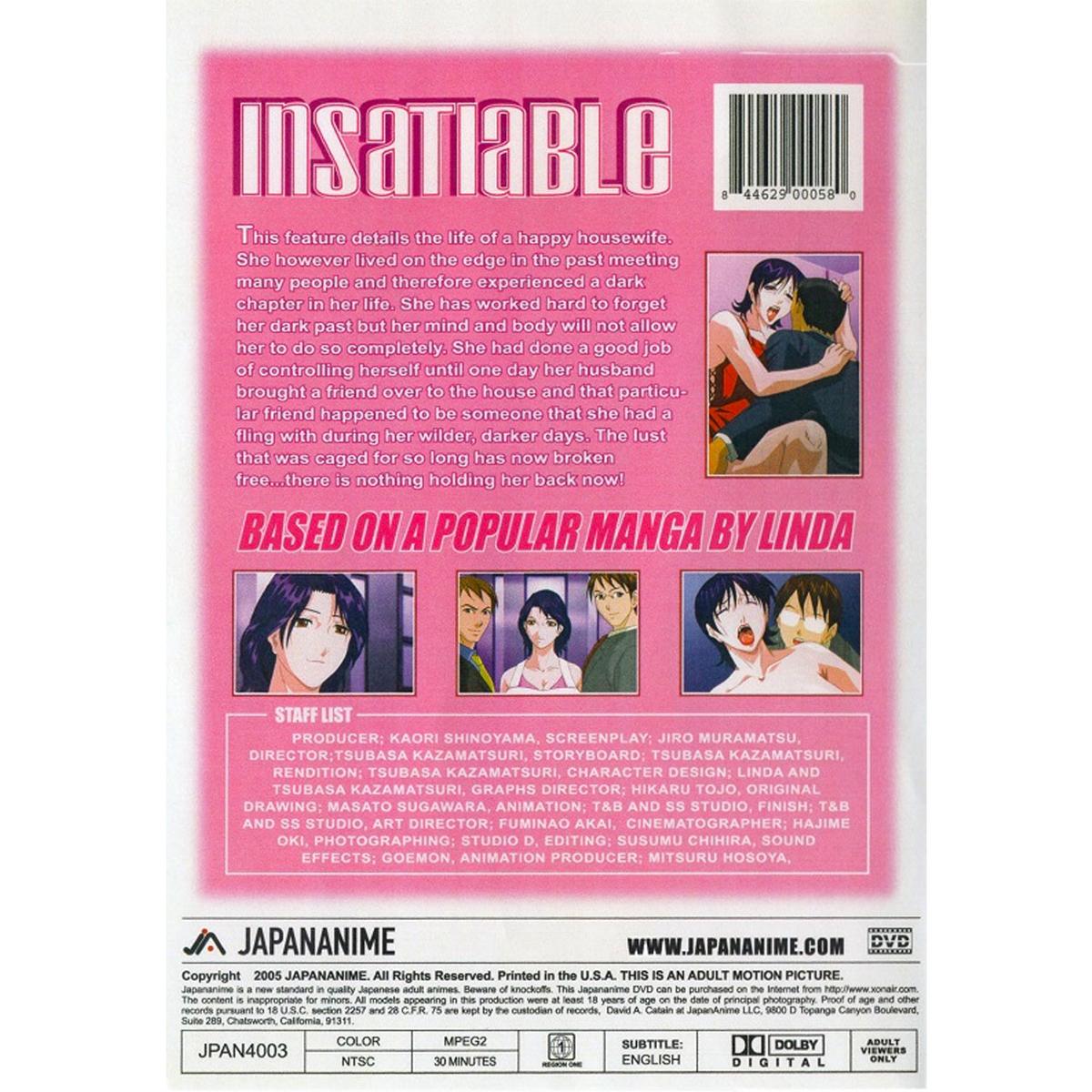 Insatiable DVD 1