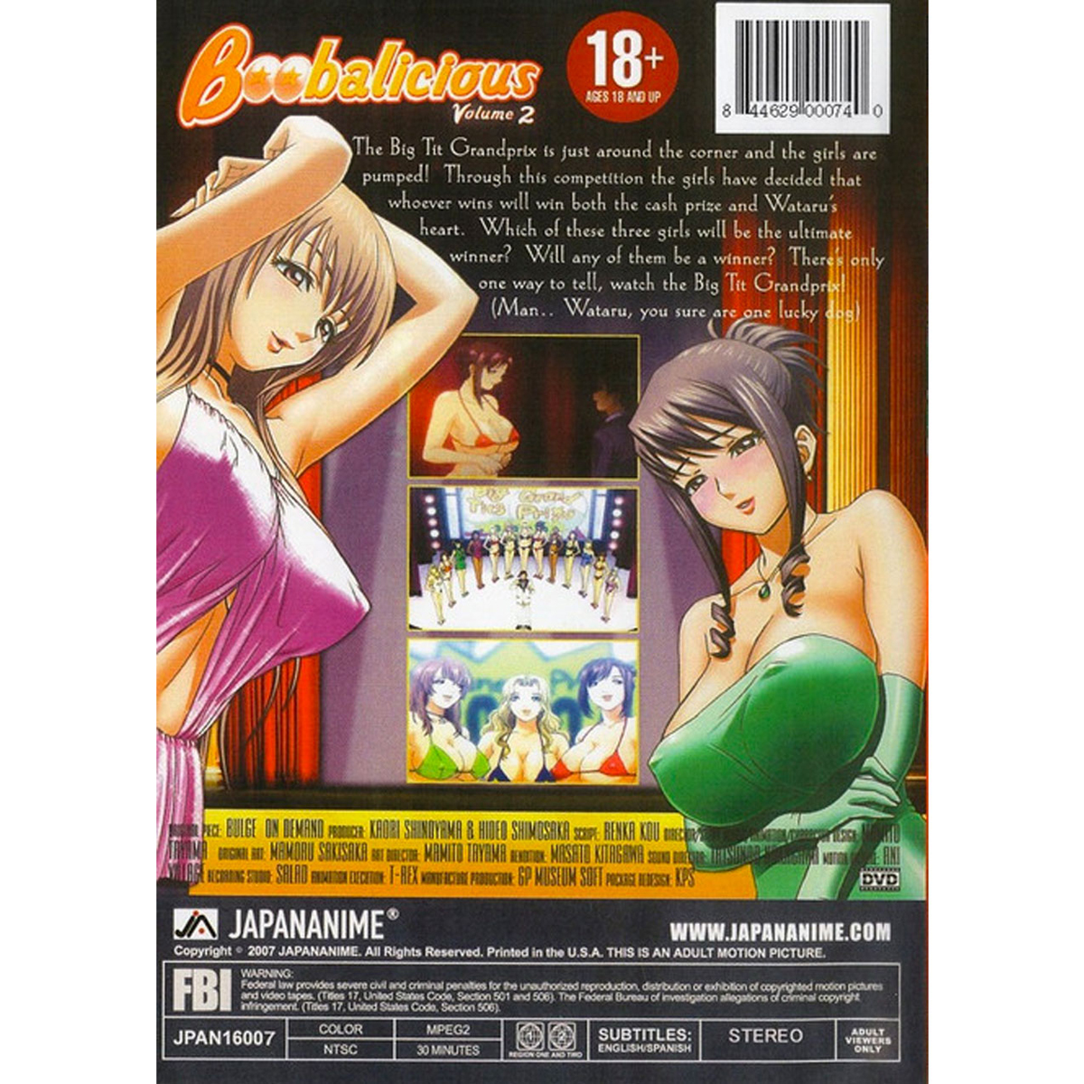 Boobalicious DVD 2