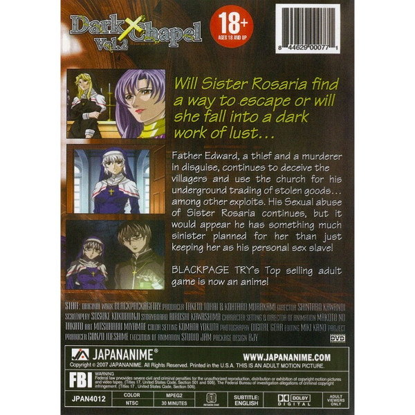 Dark Chapel DVD 2