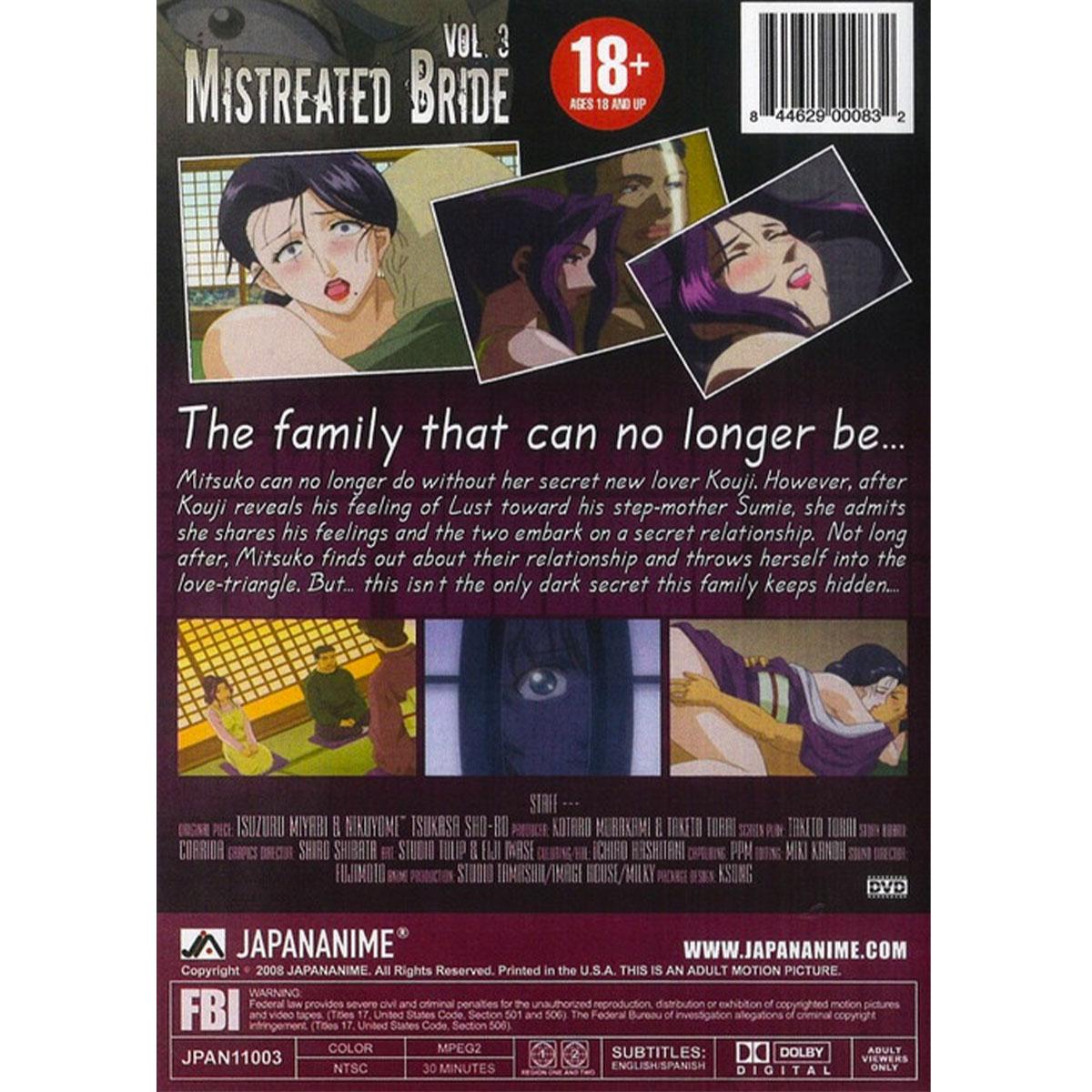Mistreated Bride DVD 3