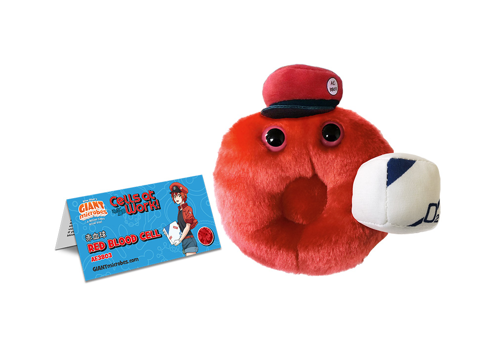 Red Blood Cell Cells at Work! Plush