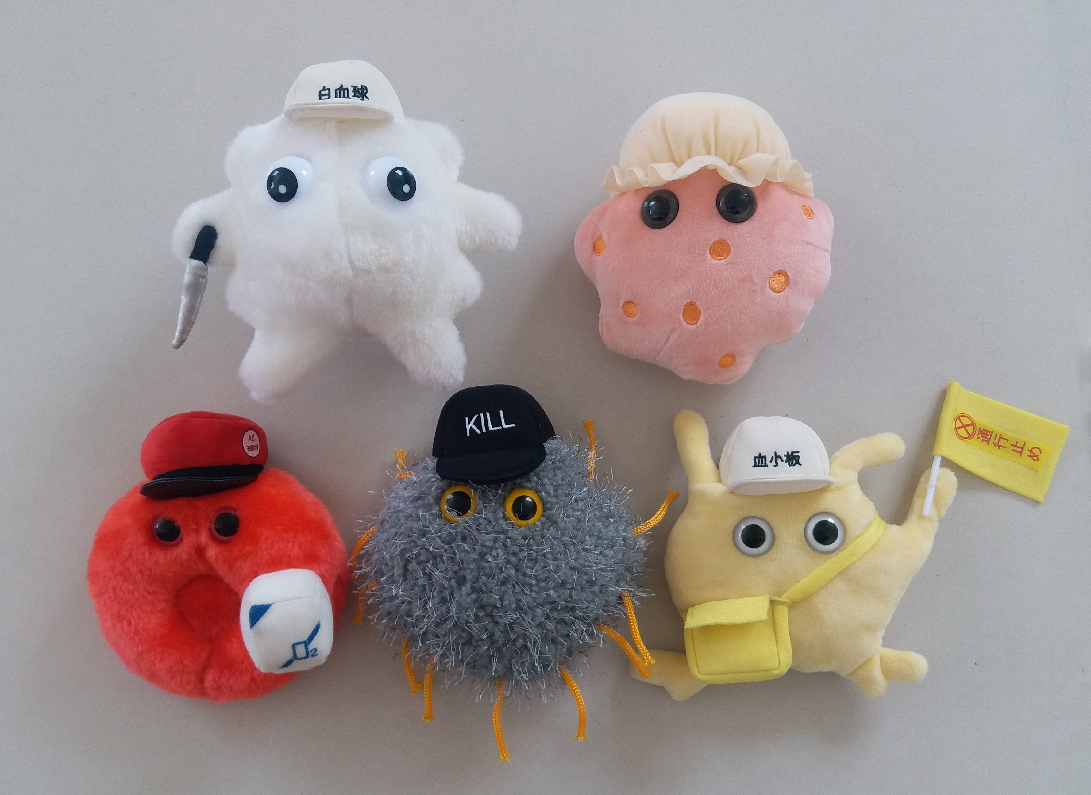 White Blood Cell Cells at Work! Plush