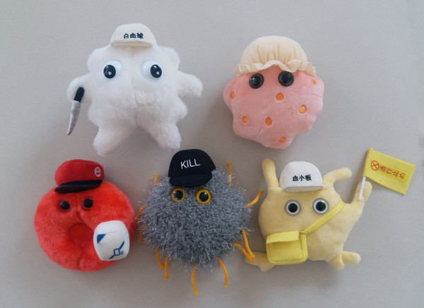 Killer T Cell Cells at Work! Plush