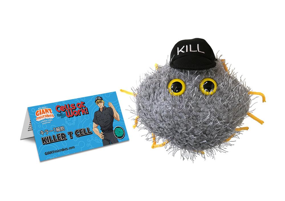 Killer T Cell Cells at Work! Plush