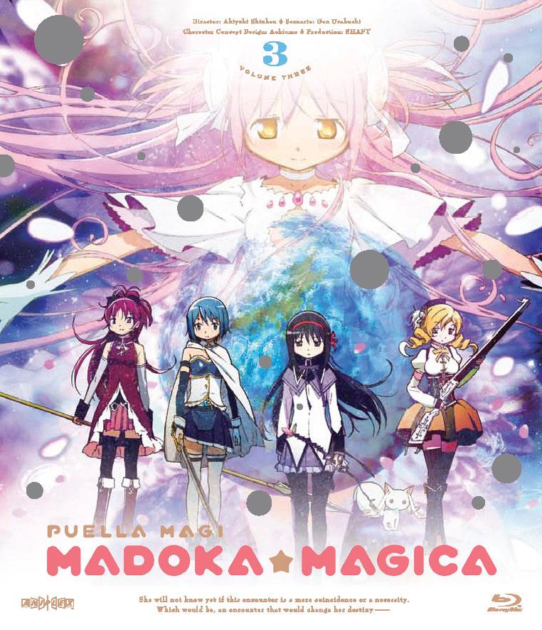 Puella Magi Madoka Magica Blu-ray 3