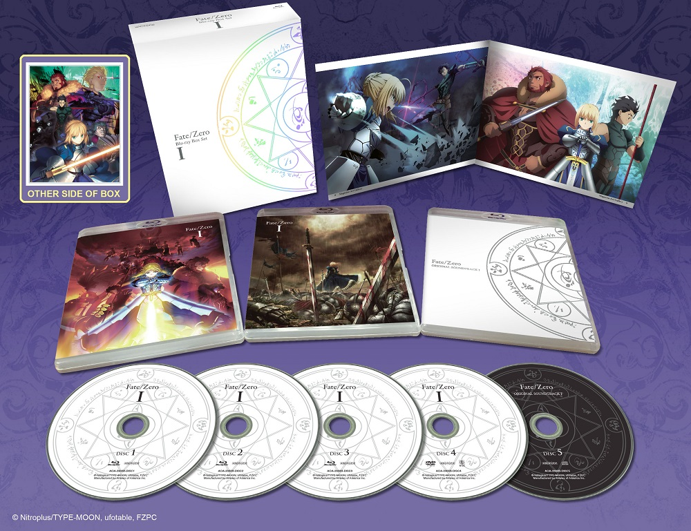 Fate/Zero Box Set 1 Limited Edition Blu-ray
