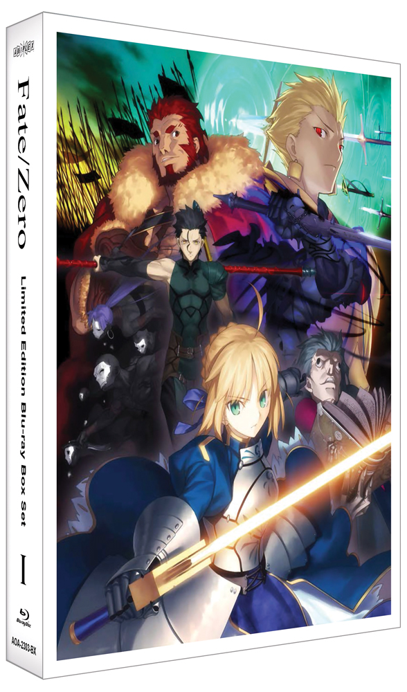 Fate/Zero Box Set 1 Limited Edition Blu-ray 850527003288