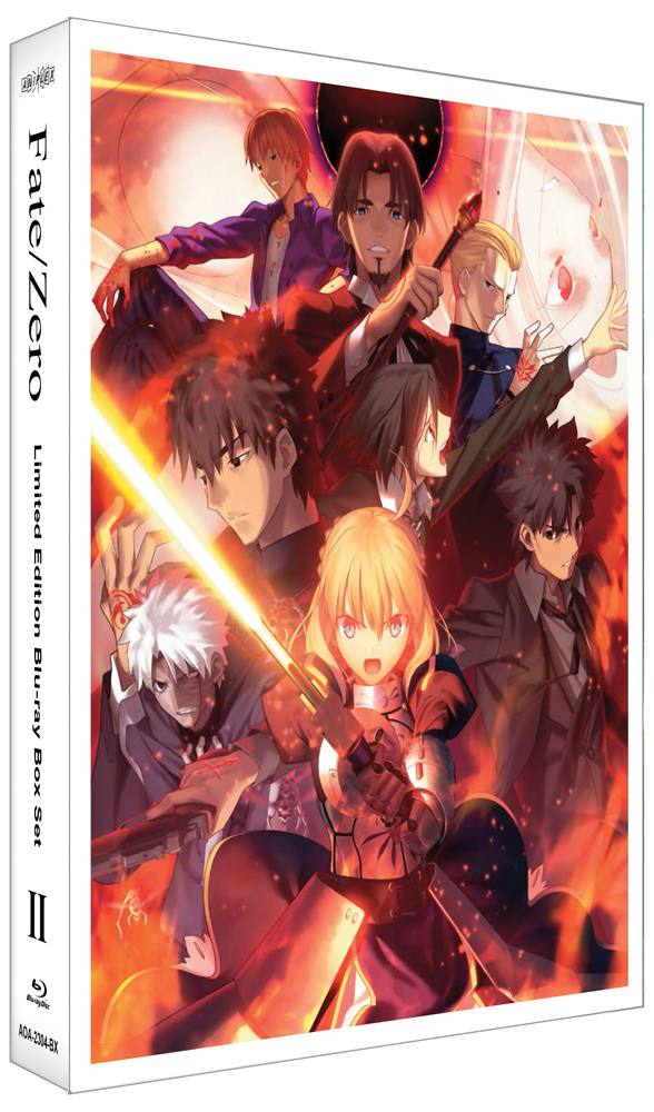 Fate/Zero Box Set 2 Limited Edition Blu-ray 850527003301