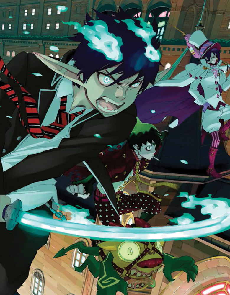 Blue Exorcist Box Set 2 Limited Edition Blu-ray 850527003424